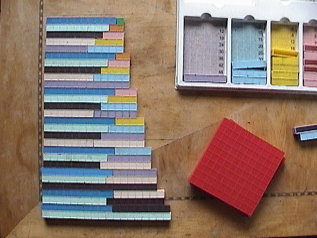 Base ten blocks, Base ten manipulatives, pre-school math activities