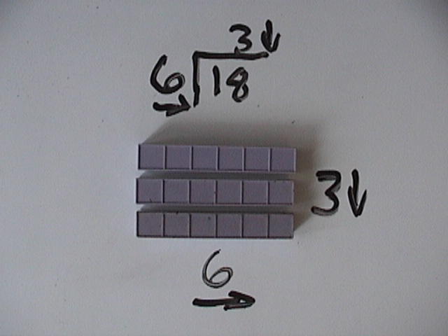 division with base ten blocks