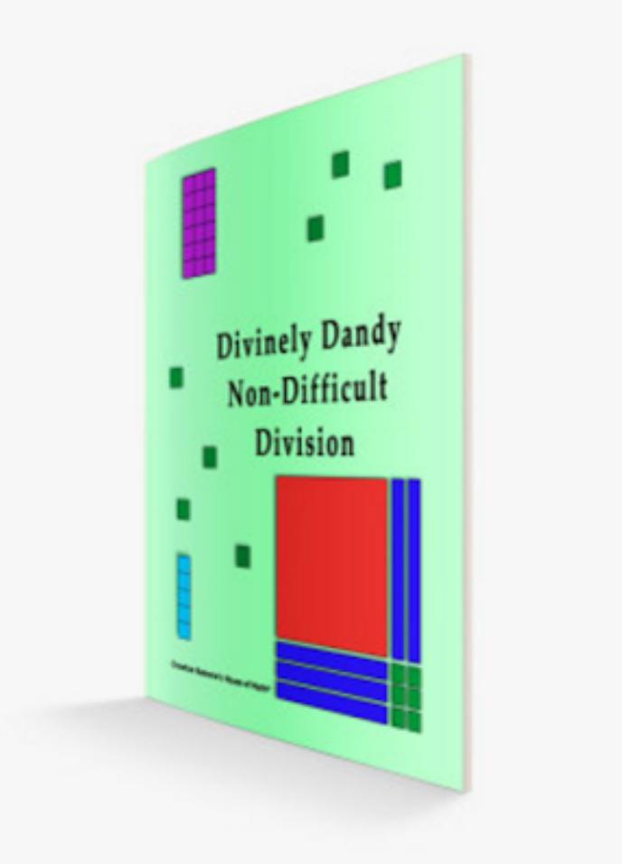 Base ten block division book, division,
