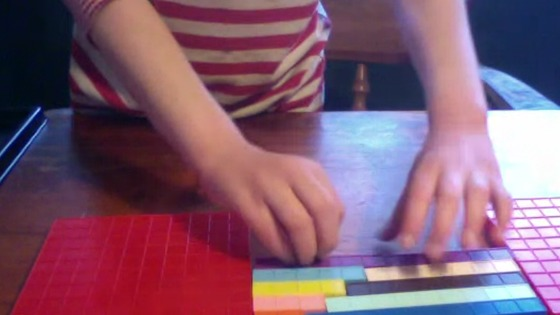 base ten blocks, addends, sensory math,  manipulaives