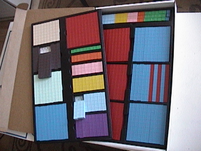 Combo Kit, Mortensen Math Combo Kit,  Base 10 Blocks, Base Ten Blocks