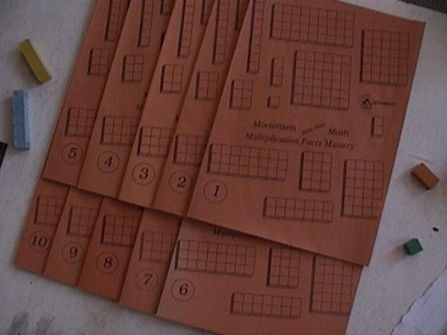 Mortensen Math, Multiplication Facts Mastery,