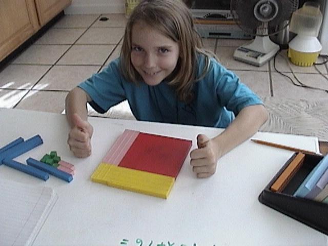 Algebra, Math Manipulatives, Kid Doing Math