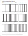 fraction worksheets. Black Bedroom Furniture Sets. Home Design Ideas