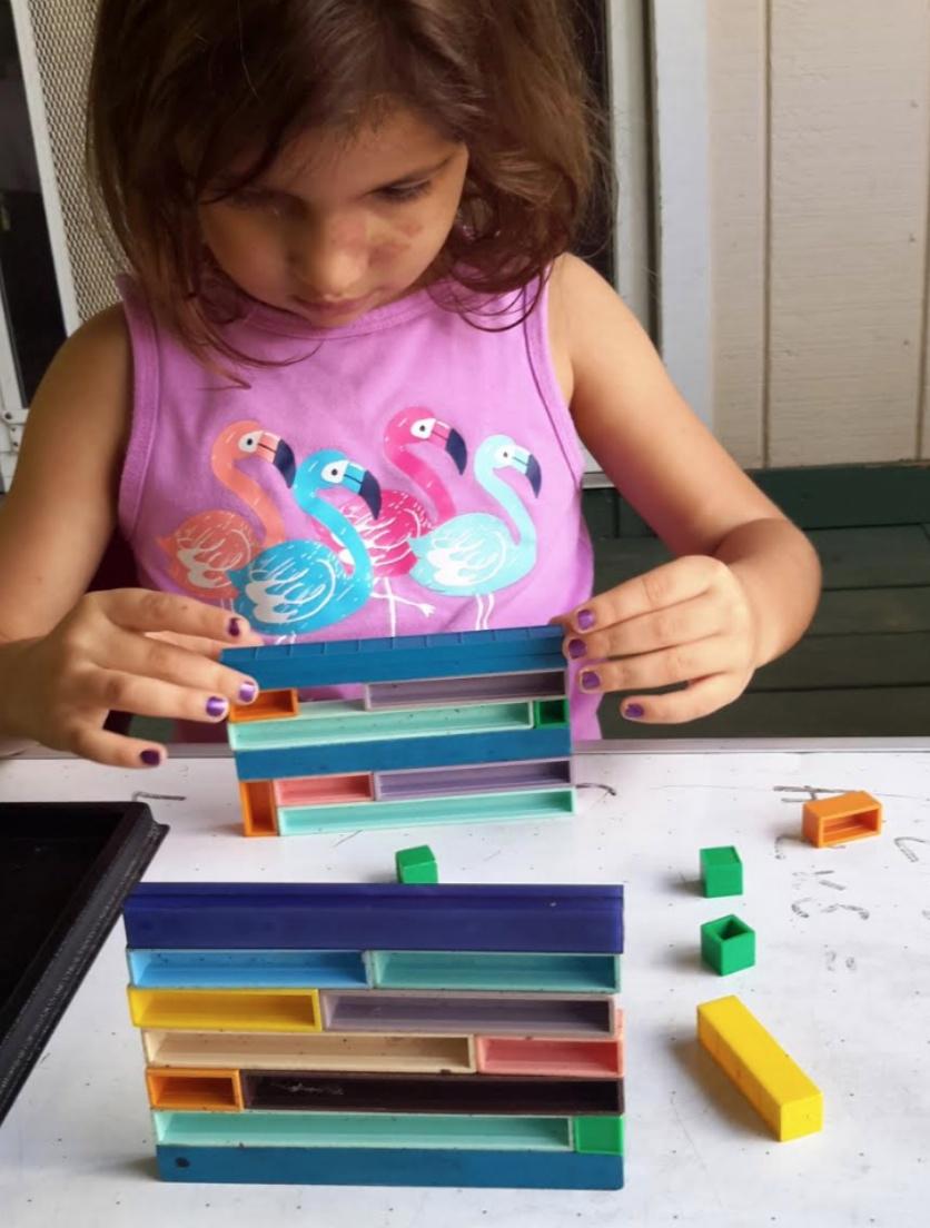 base ten blocks, fun preschool math activities, Montessori