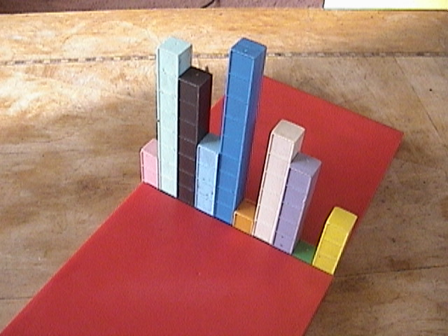 Base Ten Blocks, Mortensen Math, Manipulatives
