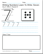 math worksheet : write numbers pdf  : Maths Pdf Worksheets