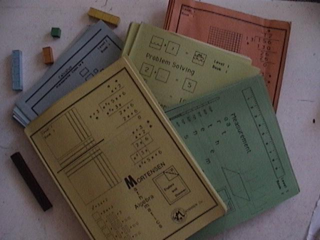 Mortensen Math, Level One Mortensen Math Books,