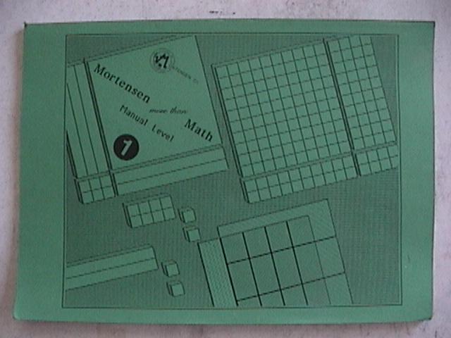 Mortensen Math, Level One Manual.