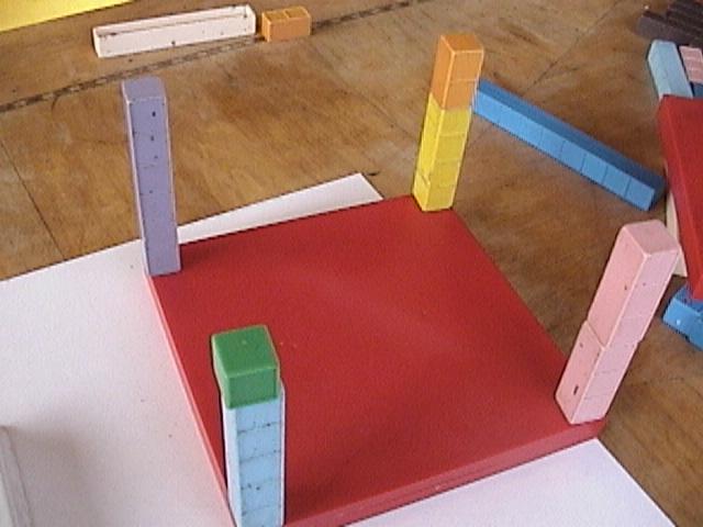 Base Ten Blocks, Mortensen Math, 1st Grade Math Activities