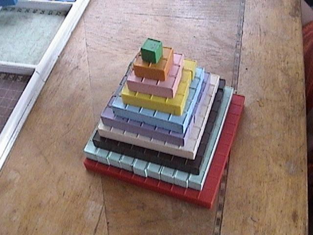 square numbers, kindergarten math actvities, Mortensen Math